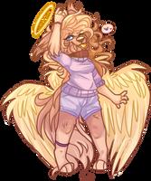 Shedontknowbutsheknows - Choco / Hannah ! Angel by Choco-Floof