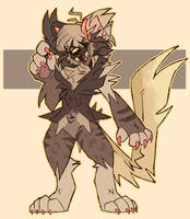 Ze - OLD OC - Redesign by Choco-Floof