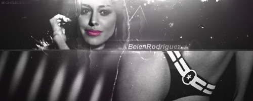 Belen Rodriguez by M1ch3l3