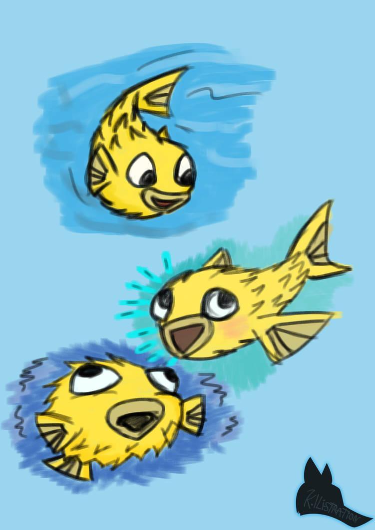 Puff drawings - Mascot by Kia350-90812