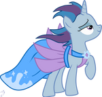 Picture perfect pony vector