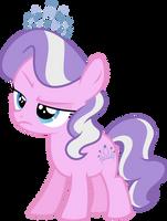 Diamond Tiara is not pleased by Hourglass-Vectors