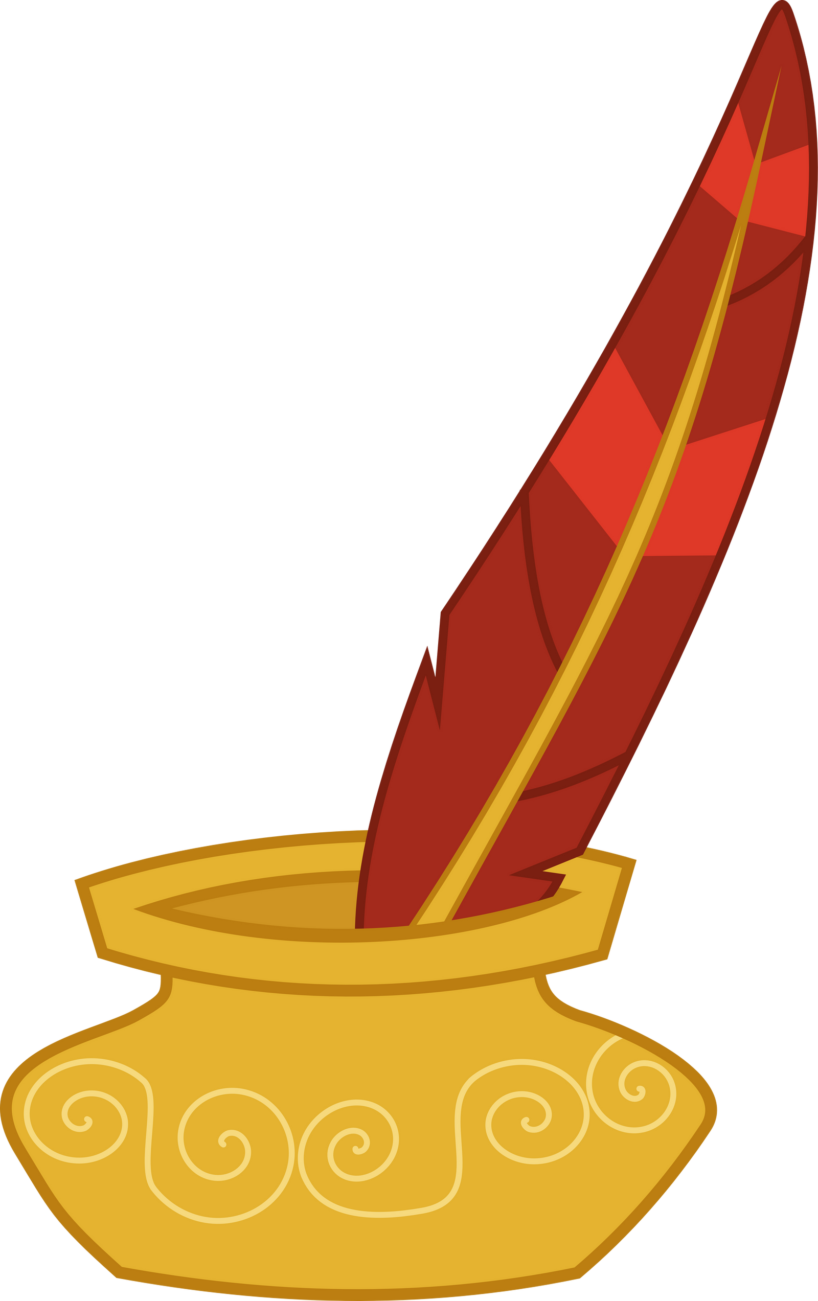Quill And Paper Png Ink and Quill b...