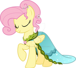 Fluttershy Dress - Journey of the Spark Vector