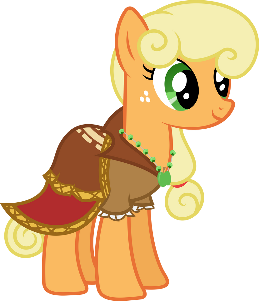 Applejack Dress Journey Of The Spark Vector By Hourglass