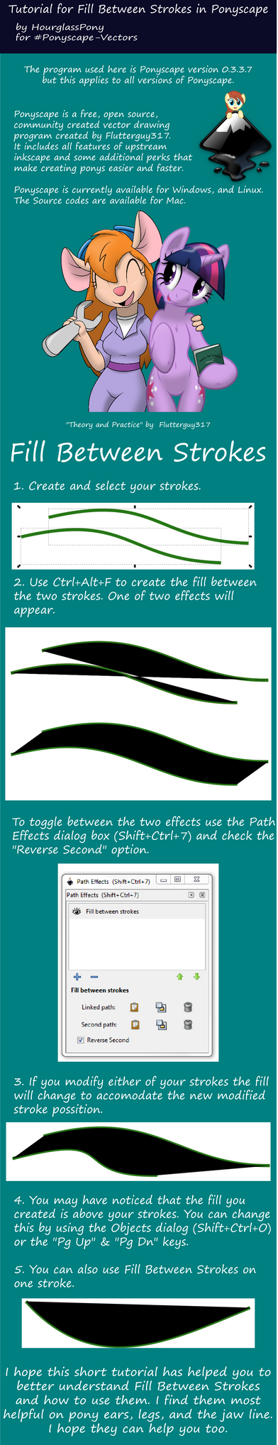 Fill Between Strokes Tutorial by Hourglass-Vectors