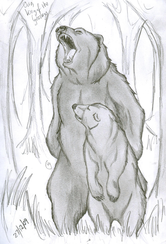 Ursa, King of the Grizzlys by LeeDassin