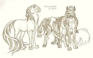 Three Purr Ponies - Commission