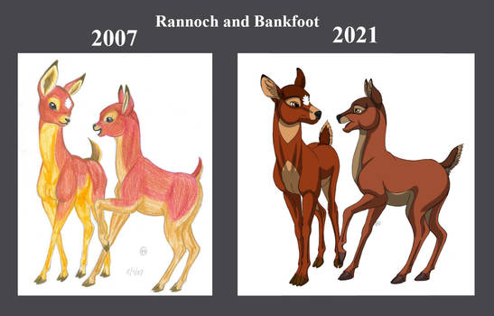 Rannoch and Bankfoot Comparison