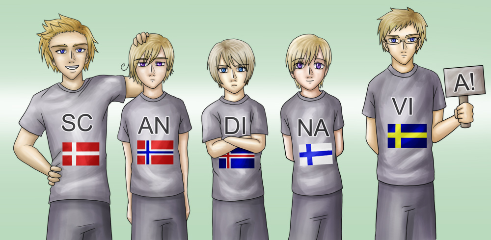 Aph Scandinavia By Lord Evell On Deviantart