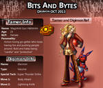 Bits and Bytes app: Magnhild and Elecmon