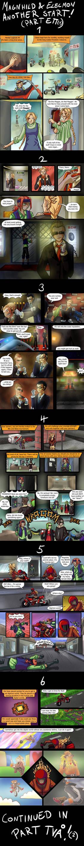 Magnhild and Elecmon: Another Start Part ETT! (1)