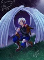 BnB Secret Santa: Wingmon by Lord-Evell