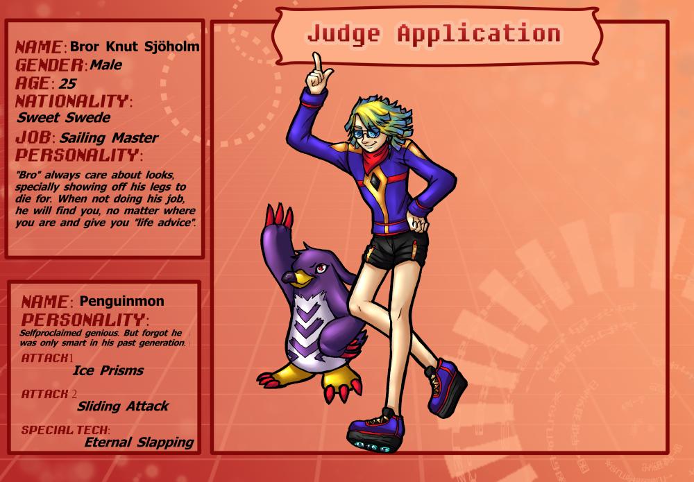 TDA -  Judge Bro and Penguinmon