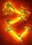 Warp Evolution Agumon