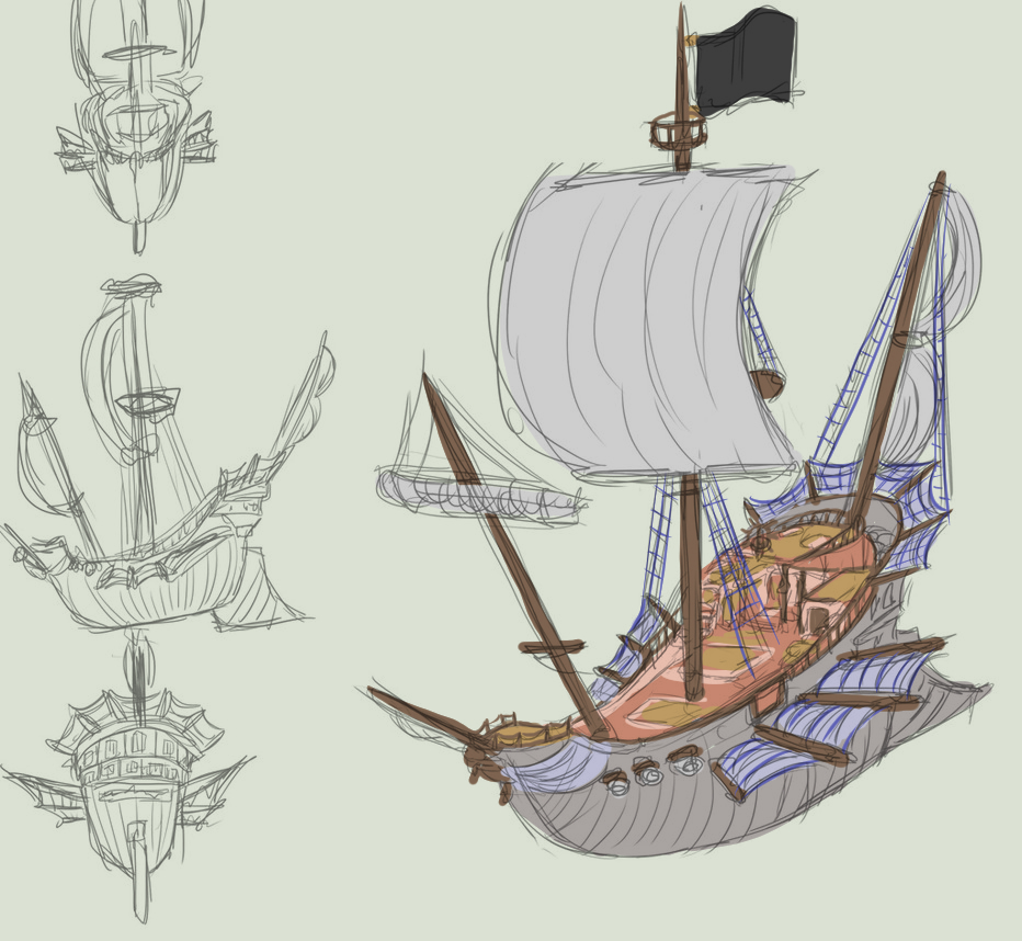TDA Pirate ship ref by Lord-Evell