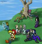Organization XIII on a picnic