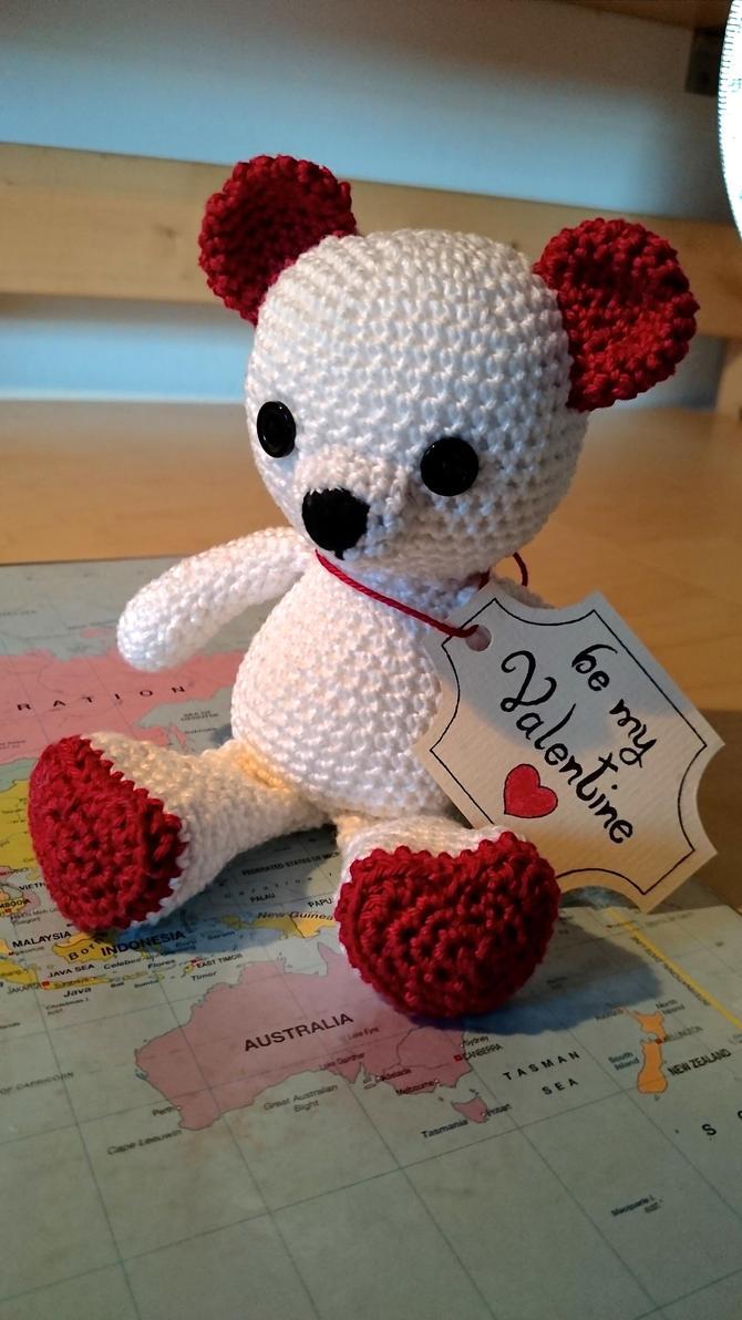 Amigurumi Valentine : Be my Valentine (amigurumi) by xcxNinuixcx on DeviantArt