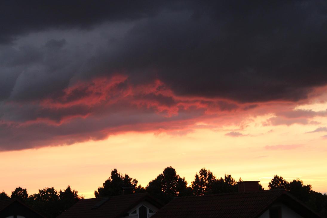 sunset by mattirual