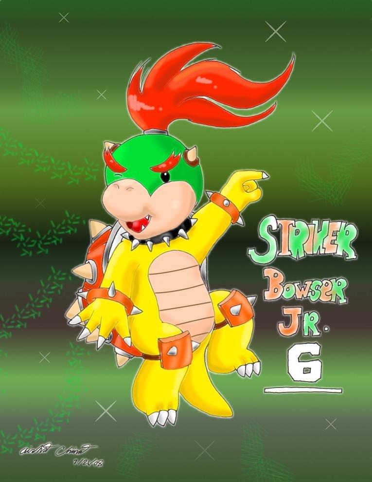 Striker Screecher Bowser Jr By Bowser2queen On Deviantart