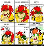Style Meme: Bowser by Bowser2Queen