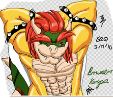 Bowser stop it by Bowser2Queen