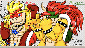 Looking good Bowser Bros by Bowser2Queen
