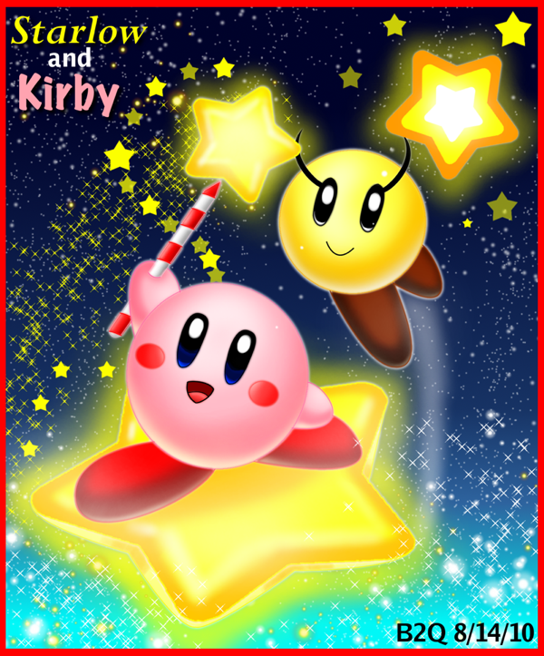 Starlow Kirby's Star Parade by Bowser2Queen