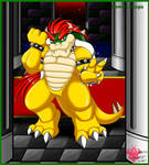 Bowser king of Koopa castle