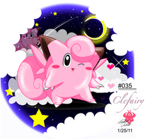 :::035- Clefairy::: by Bowser2Queen