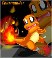 A Charmander candle by Bowser2Queen