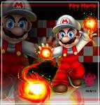 Giftart: Fire Mario