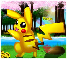 Hey You Pikachu :3 by Bowser2Queen