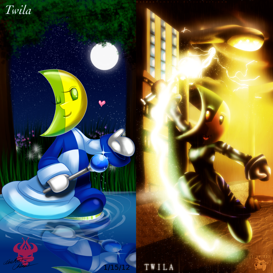Collab: Twila Half and Half by Bowser2Queen