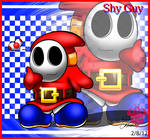 One content and loved Shy Guy