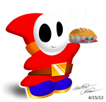 Shy Guy Pie X//D