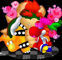 Is Yoshi a Koopa? Or is Yoshi a Yoshi? .. & wtf is Bowser ... |Bowser Loves Yoshi