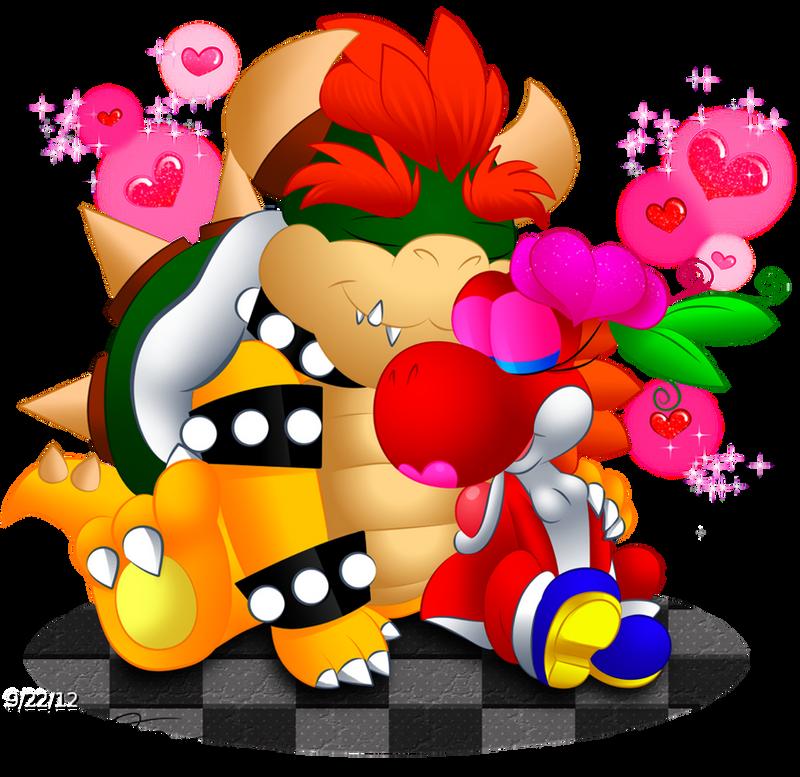 Bowser Vs. Popple and Birdo by Green-Raptor on DeviantArt |Bowser Loves Yoshi