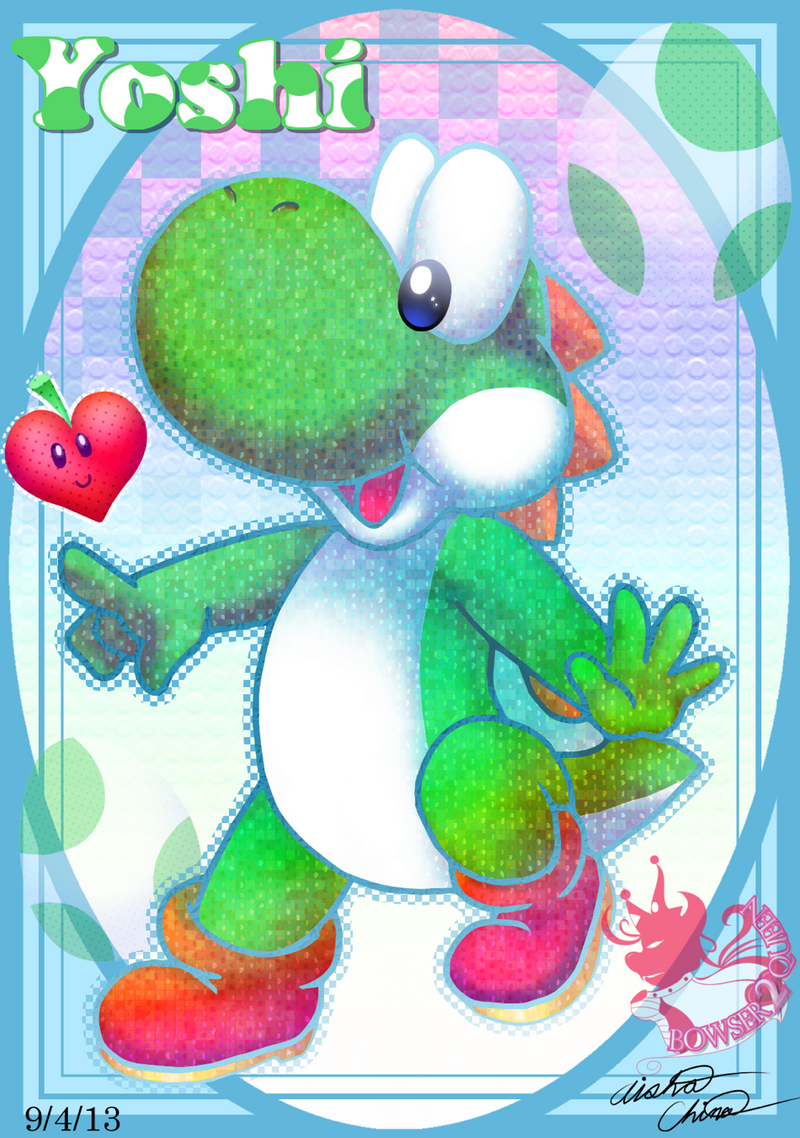 Happy Baby Yoshi Story by Bowser2Queen on DeviantArt |Bowser Loves Yoshi