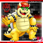 Giftart: Bowser in YBF style