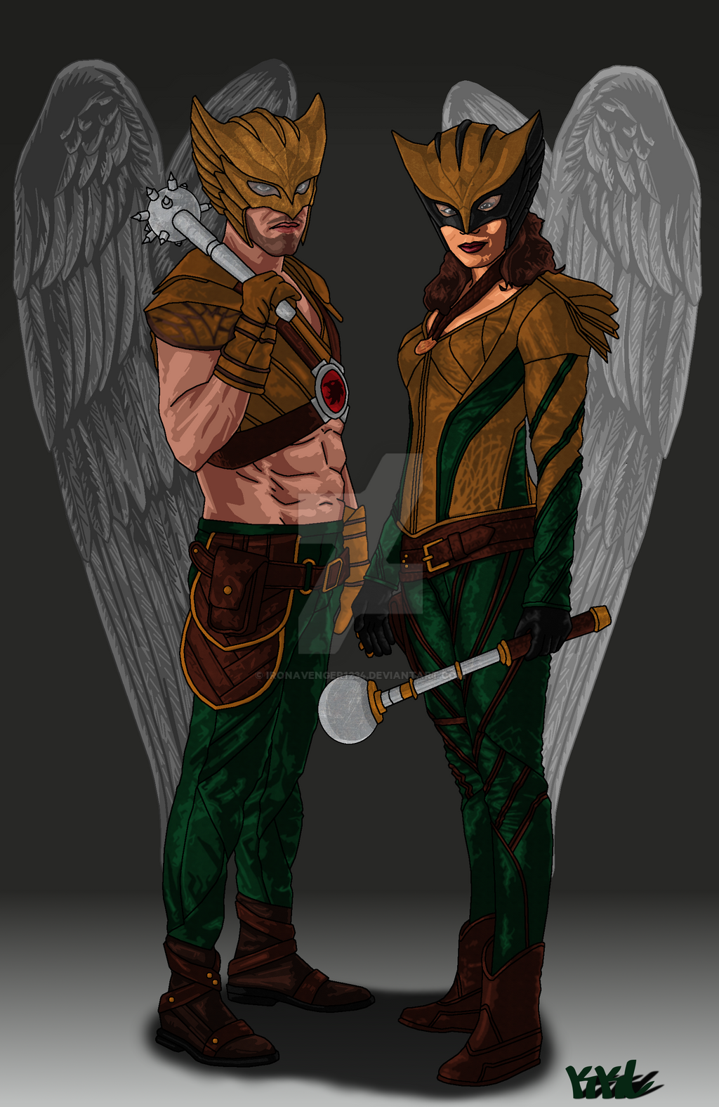hawkgirl and hawkman meet the parents