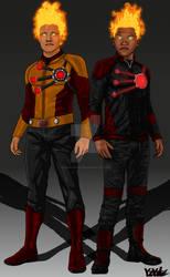 Arrow/Flash Concept: Firestorms