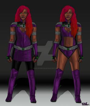 Titans Concept: Starfire