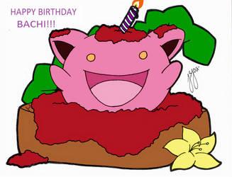 Hoppy Birthday Lineart By Foureyedalien by RubyCast