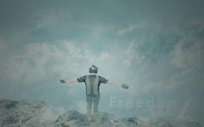 Freedom large art (jeb corliss) by Hondje999