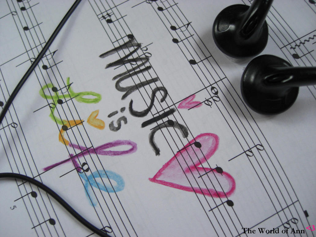 Music is Life by theworldofAnn