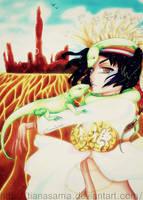 Reptile Girl by TianaSama