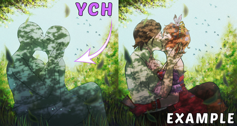 YCH Auction Couple [OPEN] - A Romantic Afternoon