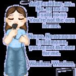 Singing girly by KnightsNymph