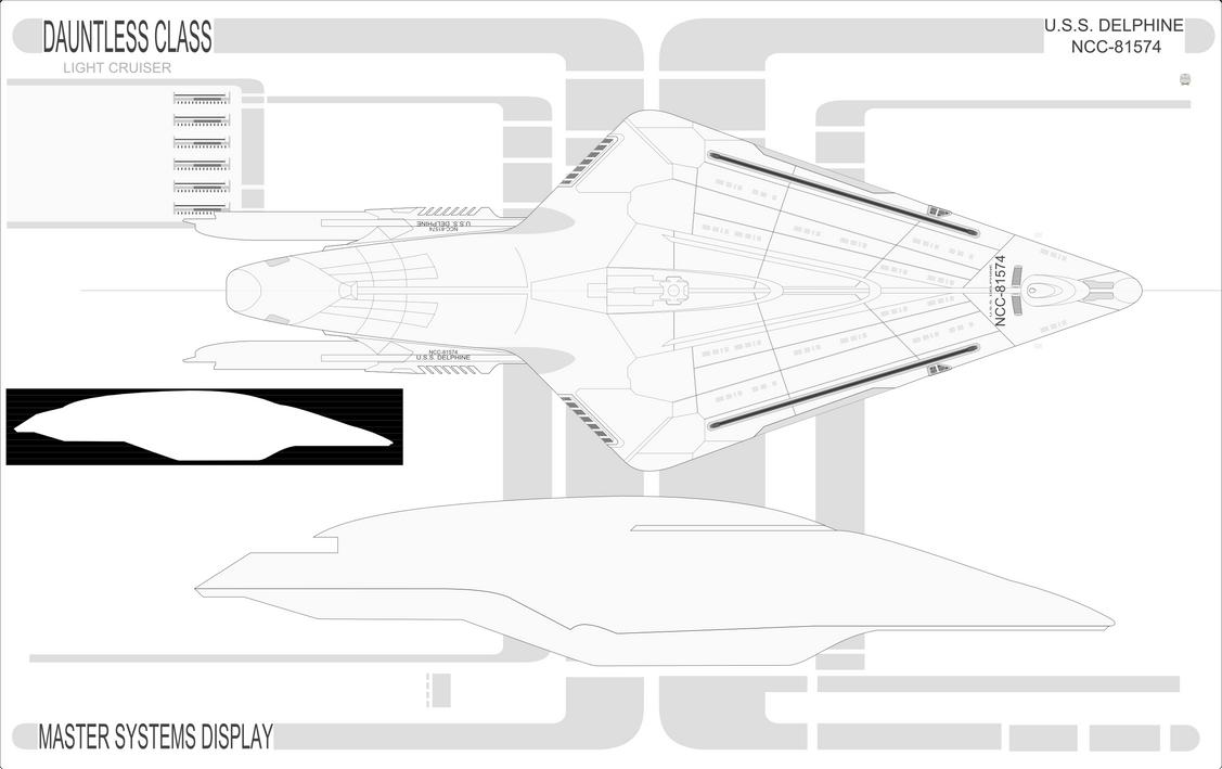 A Starfleet Dauntless by Jon-Michael-May